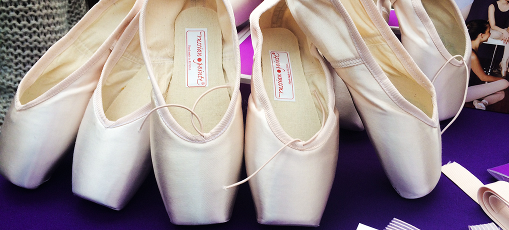 Russian Pointe shoes review plus comparison to Grishko