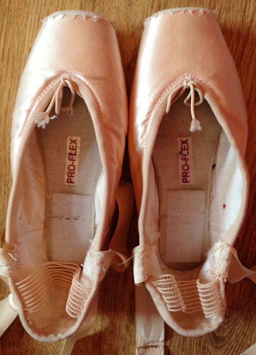 pointe shoe tips and tricks