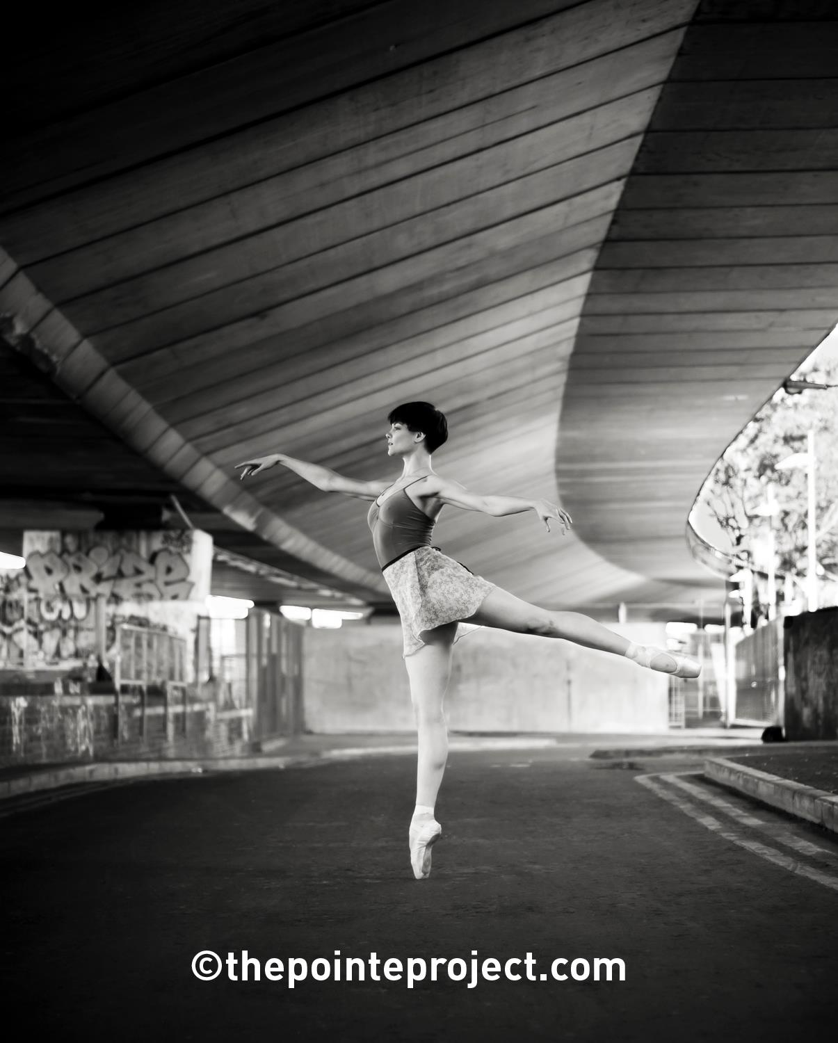 ballet photography en pointe west london