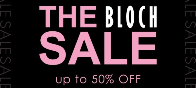 Bloch Sale Now Online! Dance Wear Sales