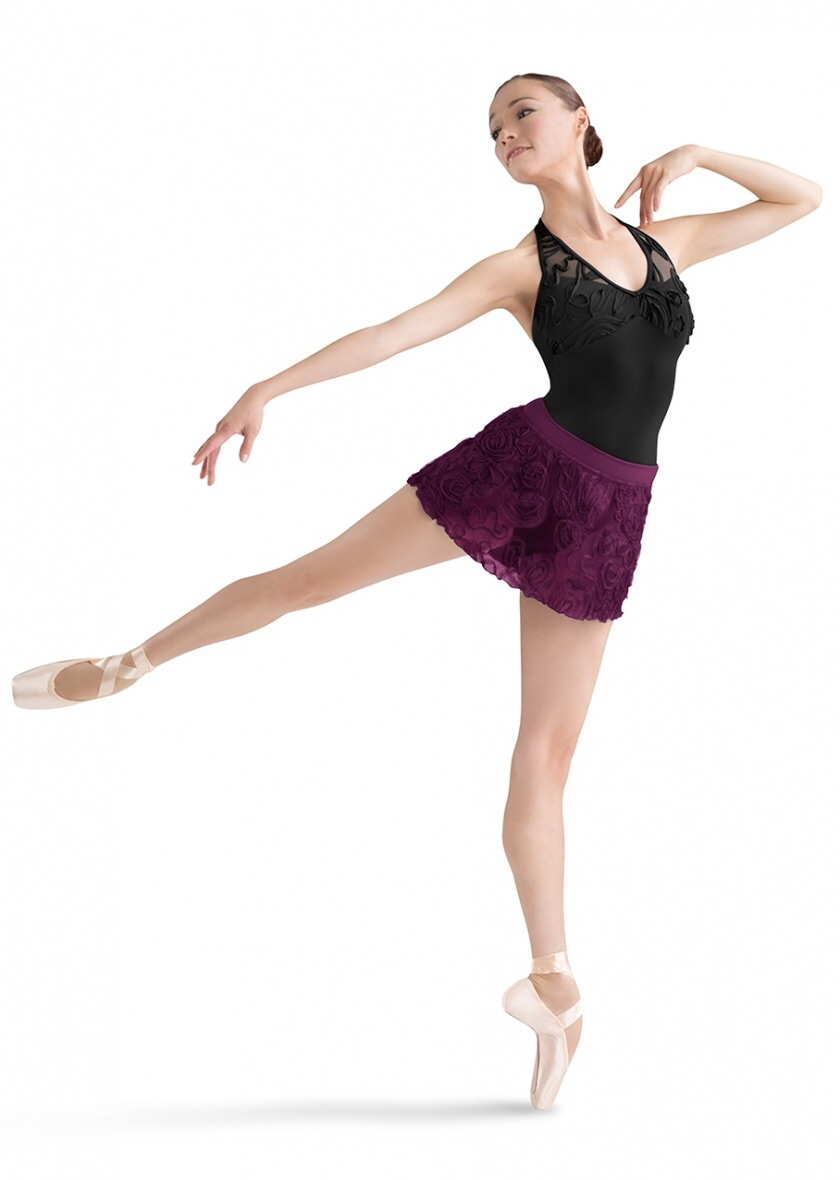 Bloch sale mesh ballet skirt