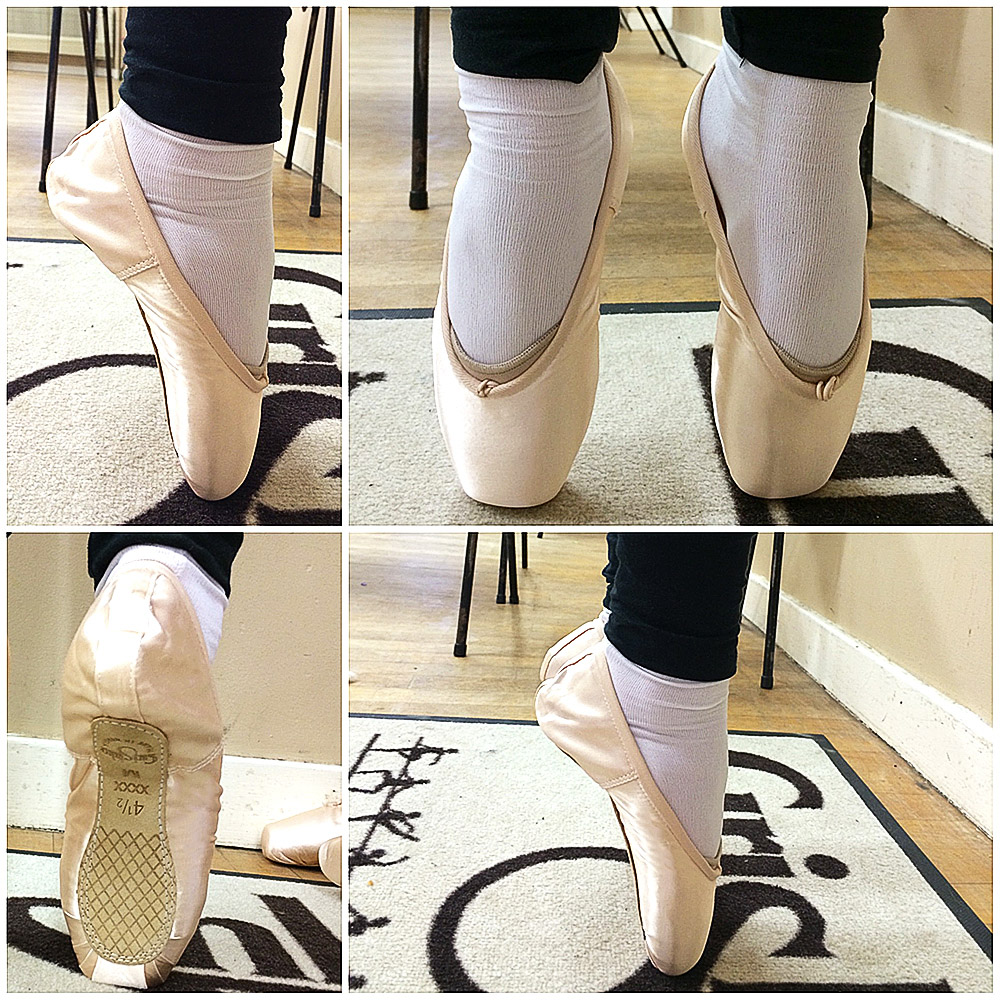 A Well Fitting Pointe Shoe