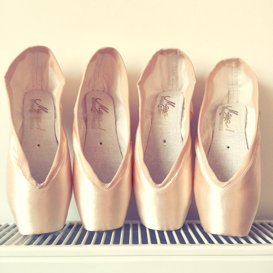 special order pointe shoes Grishko Maya 1 pointe shoe fitting pointe shoe fitter essex london england
