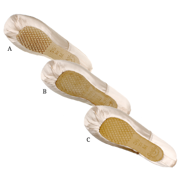 special order pointe shoes Grishko custom order sole options