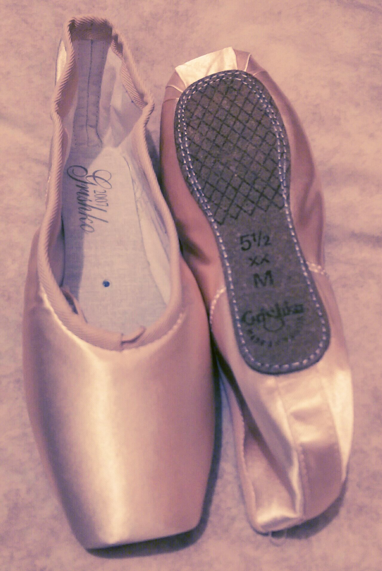 vegan pointe shoes by grishko special order