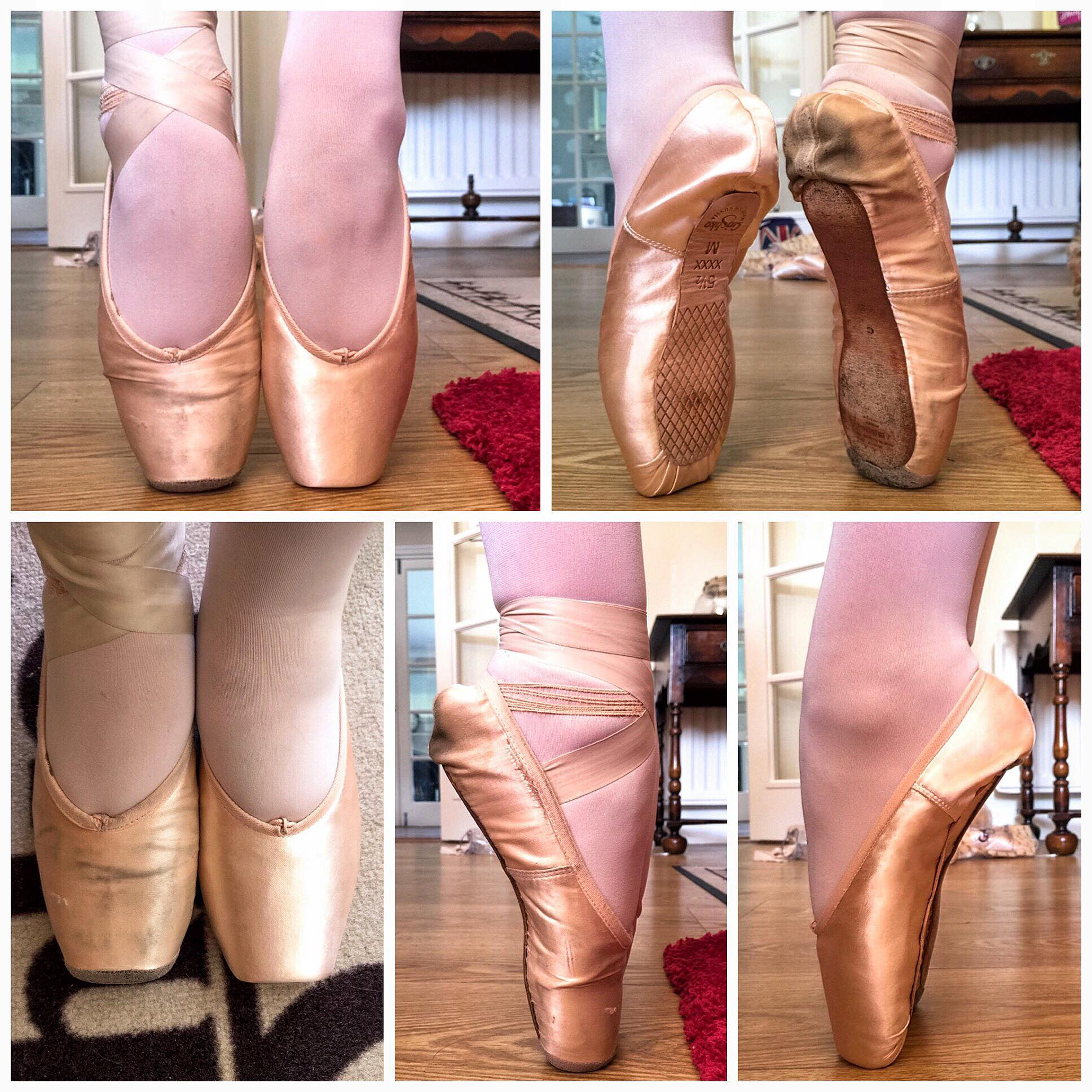 How do you fit pointe shoes correctly?